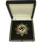 Deutsche Kreuz in Silber - German cross in Silver,  Juncker DKIS, cased