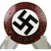 National Socialist Labor Party member's badge, M1/42 RZM