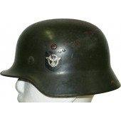 Double Decal Polizei M35 steel helmet