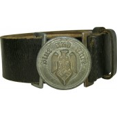 HitlerJugend leader leather belt and buckle.  M 4 /119 RZM