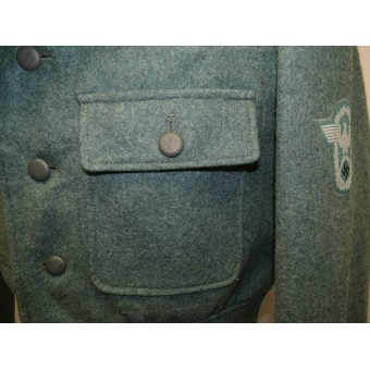 M44 Polizei tunic, 3rd Reich. Mint, unused condition.. Espenlaub militaria