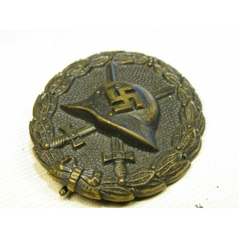 3rd Reich wound badge in black, 1st type. Espenlaub militaria