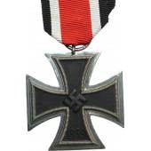 """German WW2 EK2  cross, 1939, 2nd class, marked """"27"""""""