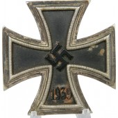 Battle damaged Iron cross 1st class 1939