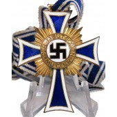 Mother cross in gold, 3rd Reich.