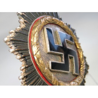 "German cross in Gold, maker's marked ""134"""
