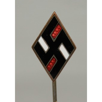 Miniature of NSDStB member badge, marked 1/52 RZM