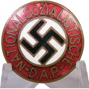 NSDAP pre 1936 Member badge, marked 8 RZM,