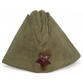 Red Army cotton sidecap, 194?