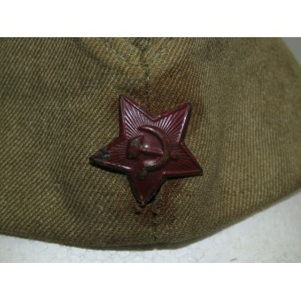 Red Army cotton sidecap, 1943