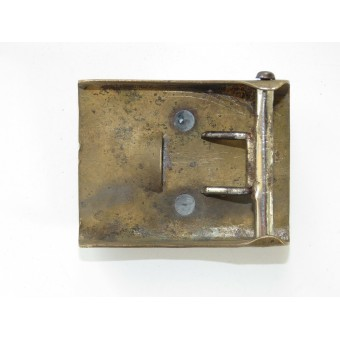 SA Brass buckle, 2 parts construction