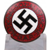 Membership badge of the NSDAP M1 / 77 RZM. Foerster & Barth