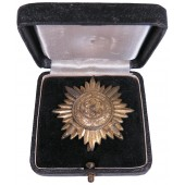 Gold Grade Eastern Peoples Bravery Star, I Class With Swords