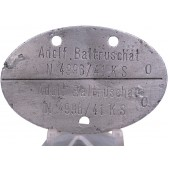 personal ID tag of the Kriegsmarine issued to Adolf Baltruschat