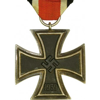 Iron cross 1939 2nd class. Eisernes Kreuz 2.Klasse- EK 2. Marked 44 Jackob Bengel Idar Oberstein. Espenlaub militaria