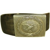 Luftwaffe combat belt and buckle Gustaw Brehmer for enlisted personnel