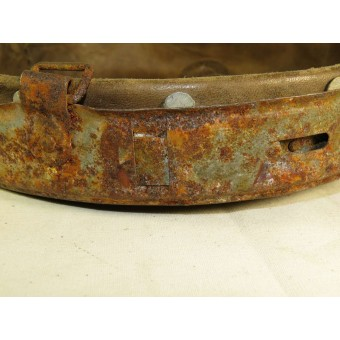 M 31 liner for M 42 steel helmet with steel band marked 66/58 neuer Art B and C marked. Espenlaub militaria