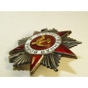 Order of Great Patriotic War second class - 1945 year. Espenlaub militaria