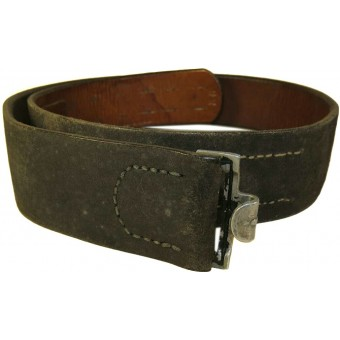 Ostfront combat belt marked H Tiertz Bad Kudowa. Espenlaub militaria