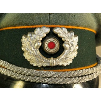Wehrmacht Heer Reconnaissance or Cavalry troops officers visor hat. Espenlaub militaria