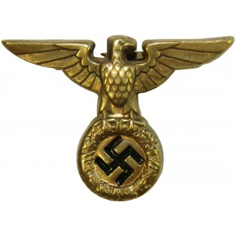 1927 model NSDAP eagle for SA and SS. Brass. Excellent condition. Espenlaub militaria