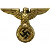 1927 model NSDAP eagle for SA and SS. Brass. Excellent condition