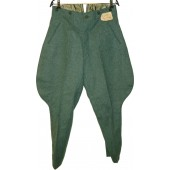 3 Reich field police breeches, mint condition