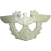 3rd Reich Police shako aluminum eagle, CTD