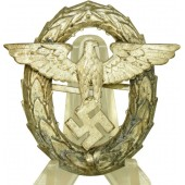 3rd Reich Polizei/Police visor hat eagle, 1st model