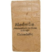 Bag of issue for Ostmedaille by Klein & Quenzer