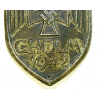 Cholm Shield 1942 - steel. Espenlaub militaria