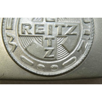 Uniform factory Reitz Werkschutz - Factory Guard's Belt Buckle