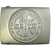 Factory Guard's Belt Buckle, Uniform factory -  Reitz Werkschutz.