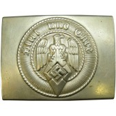 Hitlerjugend HJ nickel buckle by A&S marked Ges.Gesch RZM 17