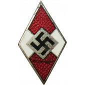 Hitlerjugend member badge M1/93 RZM marked-Gottlieb Friedrich Keck & Sohn