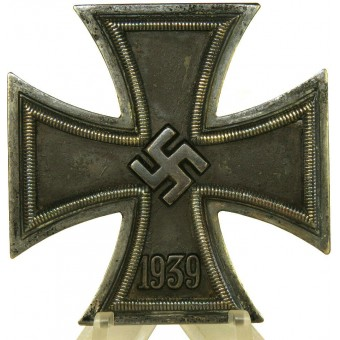 Iron cross first class 1939. Marked 65 -Klein & Quenzer.. Espenlaub militaria