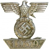 L 11 marked clasp to Iron cross 2nd class 1914, Wiederholungsspange 1939 für das Eiserne Kreuz