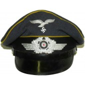 Luftwaffe flying crew or parachutists visor hat