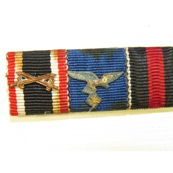Luftwaffe soldiers ribbon bar. Espenlaub militaria