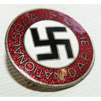 NSDAP member badge marked M1/105 RZM - Hermann Aurich. Espenlaub militaria