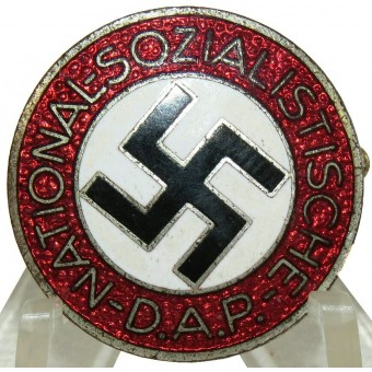 NSDAP member badge marked M1/105 RZM - Hermann Aurich