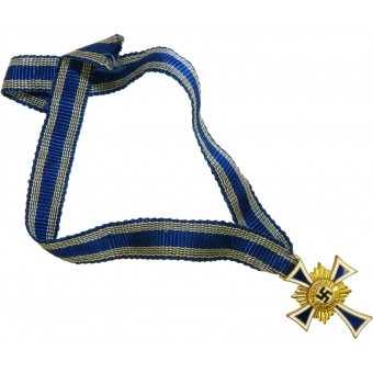 Miniature Mothers Cross-Ehrenkreuz der Deutschen Mutter, gold grade. Espenlaub militaria