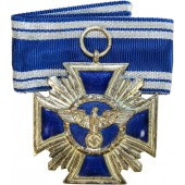 NSDAP Long Service Award, 2nd Class for 15 Years-NSDAP Dienstauszeichnung, 2.Stufe in Silber