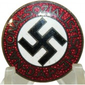 NSDAP party member badge, marked M1\77 - Foerster & Barth
