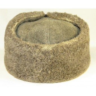 Red Army/ Soviet Russian M 40 winter hat, 1940.
