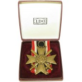 War Merit Cross 2nd Class -KVK II with swords. LDO case