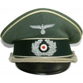 Wehrmacht Heer Infantry officers visor hat