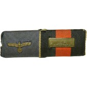 Wehrmacht ribbon bar: 4 years in the Wehrmacht and Czech Anschluss