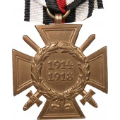Hindenburg World War 1914-1918 Commemorative cross with swords