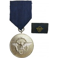 Medal for 8 years of faithful service in the 3rd Reich police